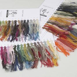 Bomuld og uld - Farbkarte