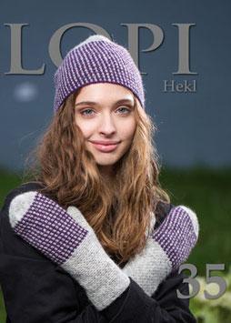 Lopi-Heft No. 35 - Crochet (Englisch)