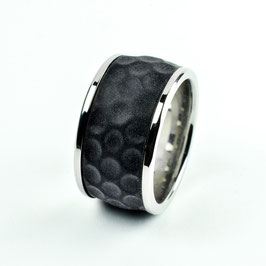 BIRDIE Change, golf ball ring with silicone inlay, 13 mm