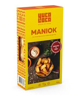 Yuca Cocida / Maniok fertig gekocht (Stk. 500 g)