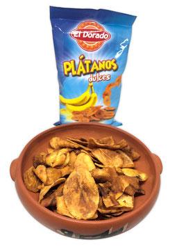 Plátanos dulces Kochbananenchips (Stk. 100g)