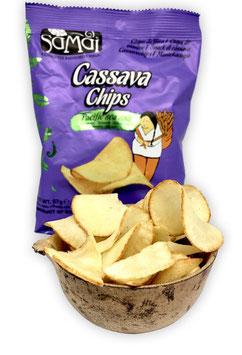 Yuca-Chips (Maniok, Cassava, Stk. 57 g)