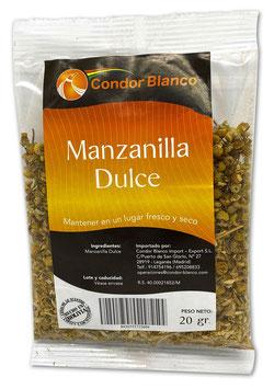 Manzanilla Dulce (süße Kamillenblüten, Stk. 20 g)