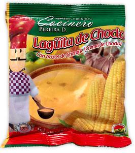 Lagüita de Choclo Maiscremesuppe mit Charque (Stk. 100 g)