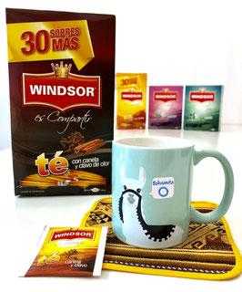 Té Windsor (Tee mit Zimt und Nelken, 5 Teebeutel á 16 g)