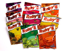 Ruby's Brausepulver (Stk. 15 g)
