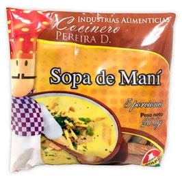 Sopa de Maní (Fertige Erdnuss-Suppe für 5 Portionen, Stk. 200 g)
