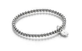 Spheric Silberarmband 925 Sterlingsilber rhodiniert