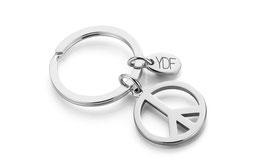 Simply-Peace Schlüsselanhänger in 925 Sterlingsilber