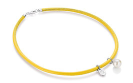 Harmony-Pearl Lederollier gelb