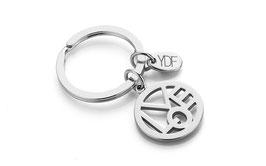 Simply-Love Schlüsselanhänger in 925 Sterlingsilber
