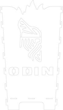 Feuerkorb Wunschmotiv Odin