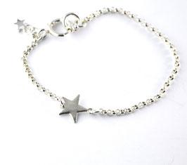 "Silber-Armband ""Stern"""