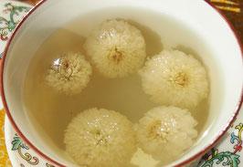台湾産 有機栽培 菊花茶 白 (杭白菊)60g