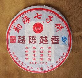 雲南七子餅茶 越陳越香 2008年 熟茶357g