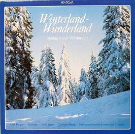 Winterland - Wunderland Schlager Zur Winterzeit