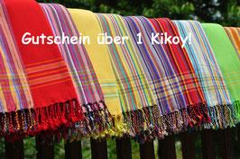 Kikoy-Gutschein