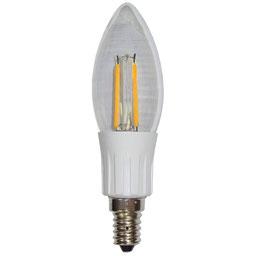 E14 LED C35 2W, 12-36VDC