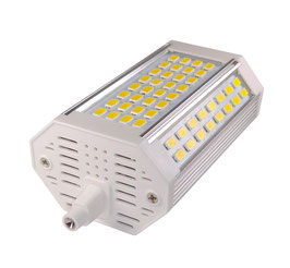 LED R7s Stab 118mm 30W, Warmweiss