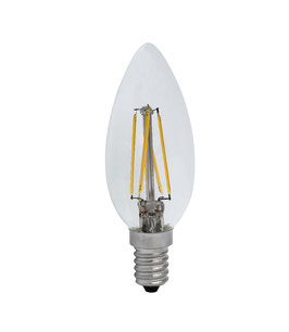 E14 LED C35 6W, Warmweiss