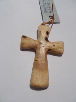 Kreuz-Anhänger Pappel-Maser