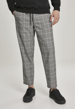 Cropped Comfort Glencheck Pants