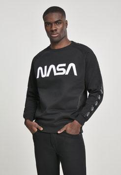 NASA Wormlogo Rocket Tape Crewneck
