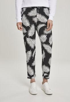 Ladies Elastic Waist AOP Pants Fond