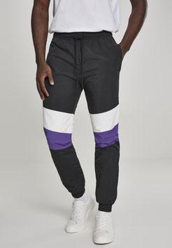 3-Tone Crinkle Track Pants