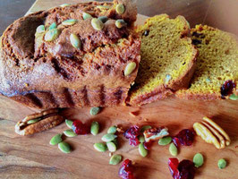 Harvest Pumpkin Bread with Craisins and Pecans