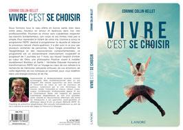 Livre VIVRE c'est ce choisir - Corinne COLLIN-BELLET - 2017