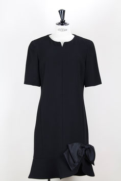 Little Black Wool Dress
