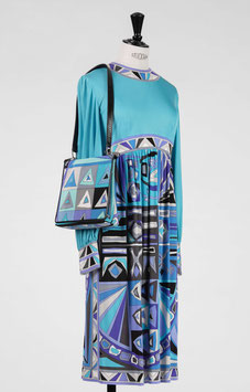 EMILIO PUCCI Dress & Bag Set