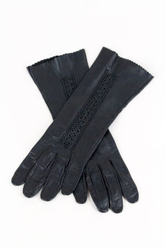 Ornamented Leather Gloves