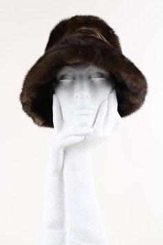 Brimmed Mink Fur Hat
