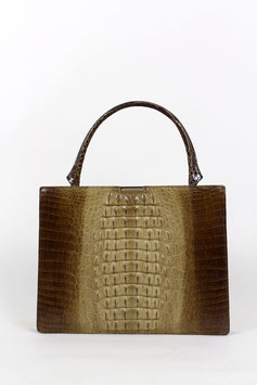 Crocodile Pattern Leather Bag