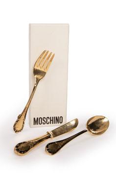 MOSCHINO Cutlery Brooch Set