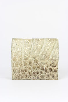 Alligator Pattern Leather Purse
