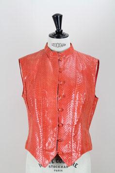 Snakeskin Waistcoat