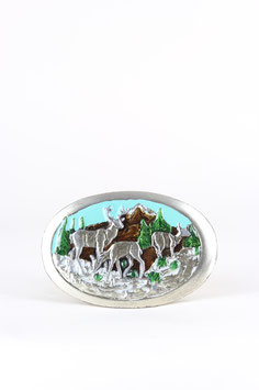 "Belt Buckle ""Deer"""