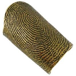"YSL Cuff Bracelet ""Fingerprint"""