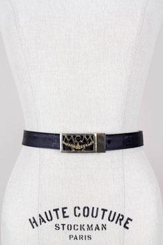 MCM 'Relief Noir' Belt