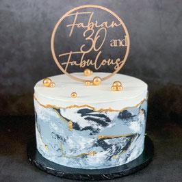 Live-Online-Backworkshop Marble Buttercream Cake  23.05.21