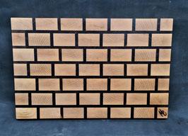 Schneidbrett Brickwall - Stirnholz 3