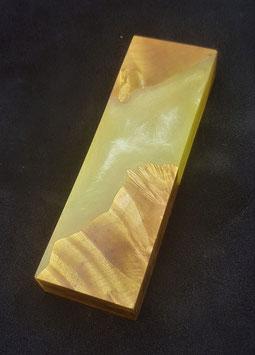 Hybrid Holzblock #1 - Transparent Gelb