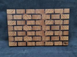 Schneidbrett Brickwall - Stirnholz  1