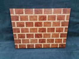 Schneidbrett Brickwall - Stirnholz 6