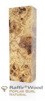 Raffir - Stabilisierte Pappelmaser NATUR