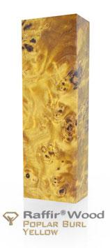 Raffir - Stabilisierte Pappelmaser GELB