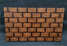 Schneidbrett Brickwall - Stirnholz 5